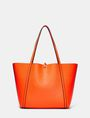 ARMANI EXCHANGE Reversible Pop Color Tote Shoulder bag D r