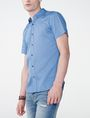 ARMANI EXCHANGE Short-Sleeve Microprint Shirt Short sleeve shirt U d
