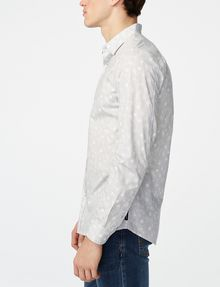 ARMANI EXCHANGE Negative Space Dot Print Shirt Long sleeve shirt Man d