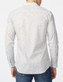 ARMANI EXCHANGE Negative Space Dot Print Shirt Long sleeve shirt U r