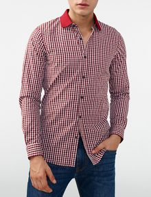 ARMANI EXCHANGE Mini Check Shirt Long sleeve shirt Man f