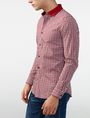 ARMANI EXCHANGE Mini Check Shirt Long sleeve shirt U d