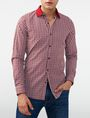 ARMANI EXCHANGE Mini Check Shirt Long sleeve shirt U f