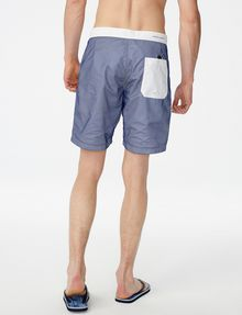 ARMANI EXCHANGE Colorblock Mesh Swim Trunk Board Short Man r