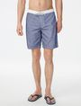 ARMANI EXCHANGE Colorblock Mesh Swim Trunk Board Short U f