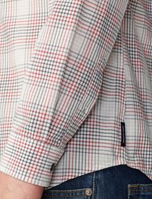 ARMANI EXCHANGE Muted Plaid Shirt Long sleeve shirt [*** pickupInStoreShippingNotGuaranteed_info ***] e