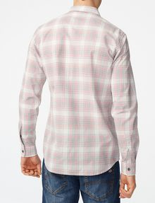 ARMANI EXCHANGE Muted Plaid Shirt Long sleeve shirt [*** pickupInStoreShippingNotGuaranteed_info ***] r