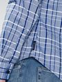 ARMANI EXCHANGE Contrast Pocket Plaid Shirt Long sleeve shirt Man e