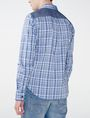 ARMANI EXCHANGE Contrast Pocket Plaid Shirt Long sleeve shirt U r