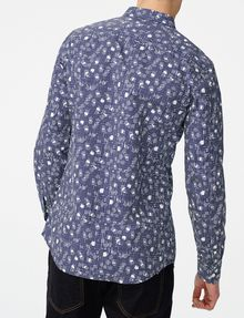 ARMANI EXCHANGE Negative Space Dot Print Shirt Long sleeve shirt Man r