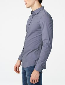 ARMANI EXCHANGE Mixed Microdot Shirt Long sleeve shirt Man d
