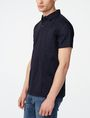 ARMANI EXCHANGE Mixed Media Polo Short-sleeved polo U d