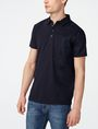ARMANI EXCHANGE Mixed Media Polo Short-sleeved polo U f