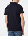 ARMANI EXCHANGE Mixed Media Polo Short-sleeved polo U r