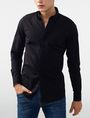 ARMANI EXCHANGE Snap-Front Stretch Slim-Fit Shirt Long sleeve shirt U f