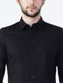 ARMANI EXCHANGE Stretch Slim-Fit Shirt Long sleeve shirt U e