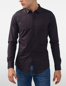 Armani Exchange Super Slim Fit Shirt Long Sleeve Shirt
