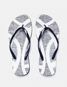 ARMANI EXCHANGE Organic Print Flip Flop flip-flop Woman f