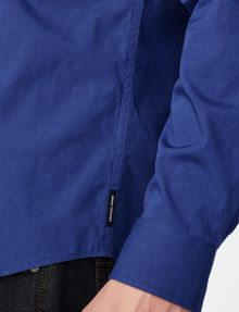 ARMANI EXCHANGE Stretch Slim-Fit Shirt Long sleeve shirt [*** pickupInStoreShippingNotGuaranteed_info ***] e
