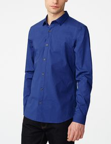 ARMANI EXCHANGE Stretch Slim-Fit Shirt Long sleeve shirt [*** pickupInStoreShippingNotGuaranteed_info ***] f
