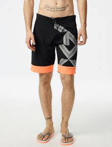 ARMANI EXCHANGE Graphic Accent Swim Trunk Swim Trunk U f