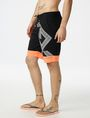ARMANI EXCHANGE Graphic Accent Swim Trunk Swim Trunk U d