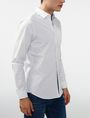 ARMANI EXCHANGE Solid Poplin Regular-Fit Shirt Long sleeve shirt Man d