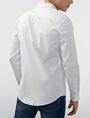 ARMANI EXCHANGE Solid Poplin Regular-Fit Shirt Long sleeve shirt Man r