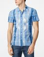 ARMANI EXCHANGE Watermark Short-Sleeve Shirt Short sleeve shirt U f