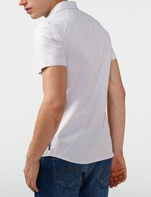 ARMANI EXCHANGE Short-Sleeve End-on-End Shirt Short sleeve shirt U r