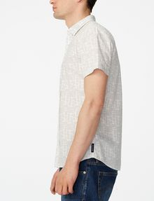 ARMANI EXCHANGE Short-Sleeve Negative Space Shirt Short sleeve shirt Man d