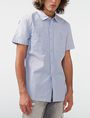 ARMANI EXCHANGE Short-Sleeve End-on-End Shirt Short sleeve shirt Man f