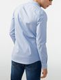 ARMANI EXCHANGE Snap-Front Stretch Slim-Fit Shirt Long sleeve shirt U r