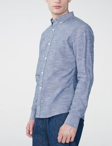 ARMANI EXCHANGE Chambray Slub Shirt Long sleeve shirt U d