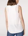 ARMANI EXCHANGE Seamed V-Neck Tank Tank top D r