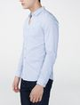 ARMANI EXCHANGE Long-Sleeve End-on-End Shirt Long sleeve shirt U d