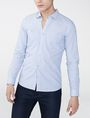 ARMANI EXCHANGE Long-Sleeve End-on-End Shirt Long sleeve shirt Man f