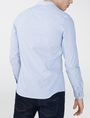 ARMANI EXCHANGE Long-Sleeve End-on-End Shirt Long sleeve shirt Man r