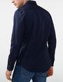 ARMANI EXCHANGE Solid Poplin Regular-Fit Shirt Long sleeve shirt Man r