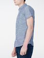 ARMANI EXCHANGE Short-Sleeve Slub Chambray Shirt Short sleeve shirt U d