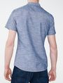 ARMANI EXCHANGE Short-Sleeve Slub Chambray Shirt Short sleeve shirt U r