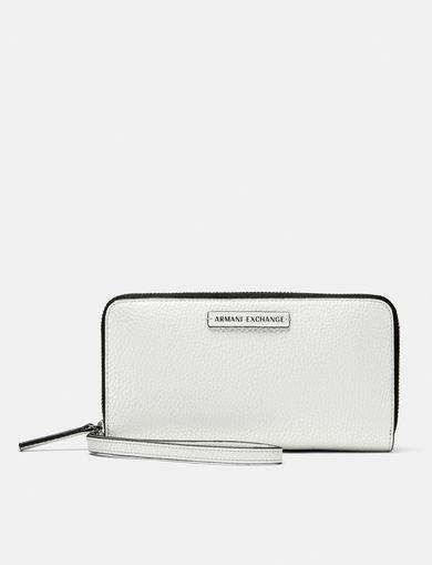ARMANI EXCHANGE Pop Color Wristlet Wallet Woman front