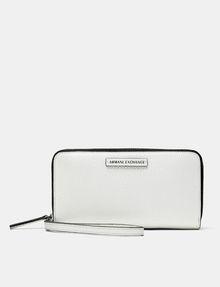 ARMANI EXCHANGE Pop Color Wristlet Wallet Wallet Woman f