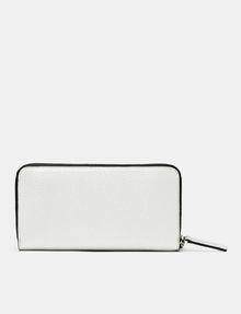 ARMANI EXCHANGE Pop Color Wristlet Wallet Wallet Woman r