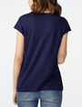 ARMANI EXCHANGE Linen Cap-Sleeve Top Shell Woman r