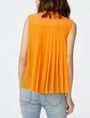 ARMANI EXCHANGE Pleat-Back Popover Shell Woman r