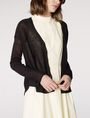 ARMANI EXCHANGE Lightweight Sheer Cardigan Cardigan Woman d