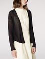 ARMANI EXCHANGE Lightweight Sheer Cardigan Cardigan D f