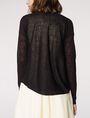 ARMANI EXCHANGE Lightweight Sheer Cardigan Cardigan D r
