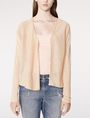 ARMANI EXCHANGE Lightweight Sheer Cardigan Cardigan Woman f